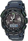 "Casio Men's PRG-550-2CR ""Pro Trek"" Analog-Digital Sport Watch"