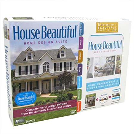 House Beautiful Home Design Suite w/Home Organizer Book