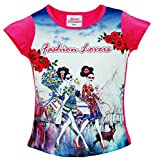 GIRLS FOREVER PRINCESS FASHION LOVER DIGITAL TOP