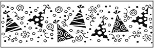 Fiskars Party Hats Continuous Stamp Wheel Sheet (01-005702)