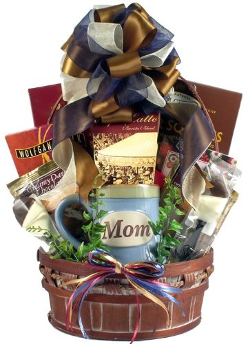 Gourmet Coffee and Sweets Gift Basket Just for Moms