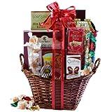 Broadway Basketeers Happy Birthday Kosher Gourmet Gift Basket (Medium)