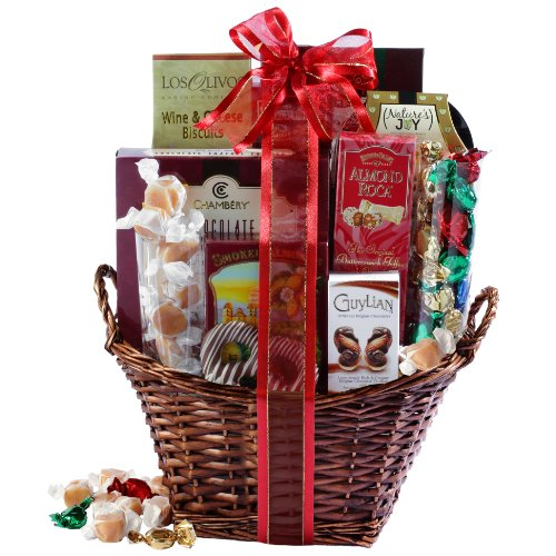 Broadway Basketeers Kosher Gourmet Gift Basket