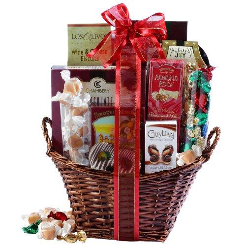 Broadway Basketeers Kosher Gourmet Gift Basket