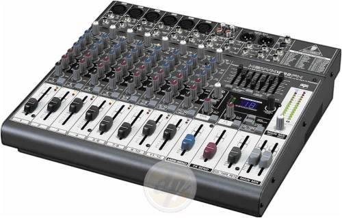 Behringer Xenyx 1222Fx Mixer With Effects, Six Xlr Inputs, 16 Inputs, Studio Grade 24 Bit Fx