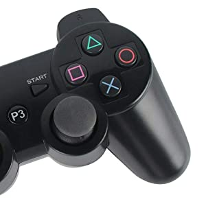 Wireless Controller for PS3, Wireless Gamepad With Built-in Double Vibration Motors Support Remote Control/Bluetooth Conection Function