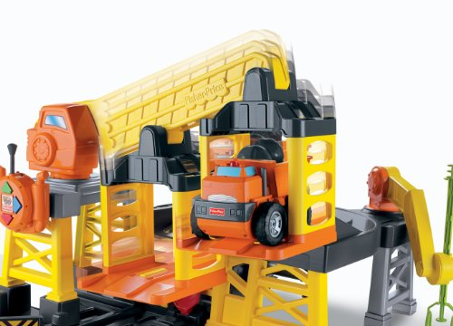 Construction Site Toys : Fisher price big action construction site with remote
