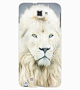 ColourCraft Lion Look Design Back Case Cover for SAMSUNG GALAXY NOTE 1