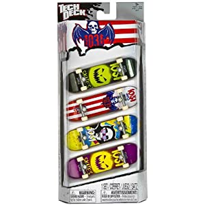 1031: Tech Deck 4-Finger Skateboard Pack