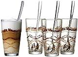 Ritzenhoff & Breker 124200 Latte Macchiato Gläser-Set,...