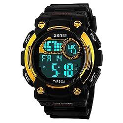 Skmei Calendar Digital Multi Color Dial Mens Watch - (HMWA05S049C0)