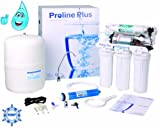 Avoca Reverse Osmosis System Pumped 5 Stage Undersink 50gpd Water Filter System (Flouride Remover)