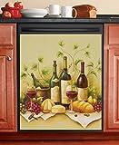 Vineyard Dishwasher Magnet Cover