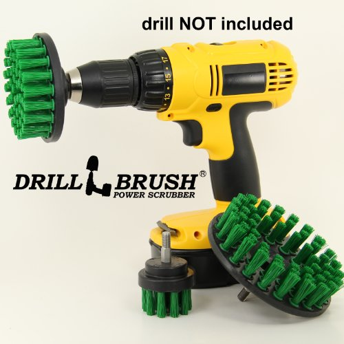 Power Rotary Cleaning Nylon Bristle Drill Scrub Brush