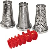 Weston 4 Piece Accessory Kit for Tomato Press and Sauce Maker