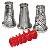 Roma Tomato Strainer 4 Piece Accessory Kit