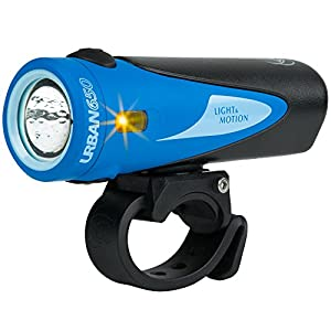 Light & Motion Urban 650 Bike Headlights, Kingfisher (Blue/Black)