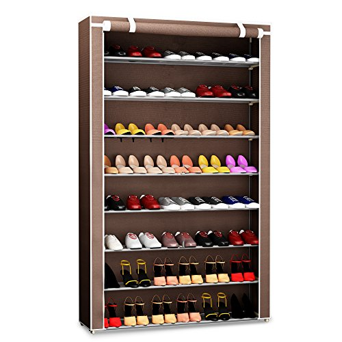 Foyer Closet Jewelry : Pairs shoe rack organizer storage bench organize your