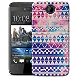 New Retro Aztec Pattern Hard Case Cover Skin For HTC Desire 300