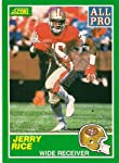 1989 Score #292 Jerry Rice