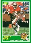 1989 Score #292 Jerry Rice