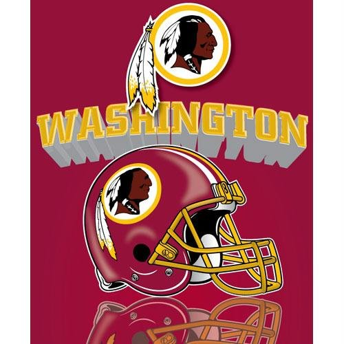 Northwest Washington Redskins Gridiron Fleece Throw at Amazon.com