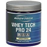BodyTech - Whey Tech Pro 24 French Vanilla Trial Size, 4.15 oz powder