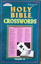 Holy Bible Crosswords Volume 16 by Kappa