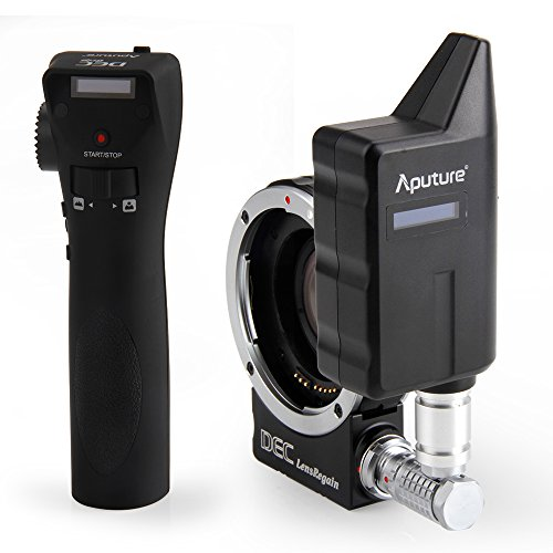 Aputure DEC LensRegain télécommande sans fil Follow Focus objectif adaptateur avec 0.75× réducteur de focale pour Objectifs EF-mount à monture MFT