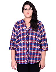 Oxolloxo Plus Size Cotton Shirt