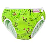 Imse Vimse Swimm Diaper Green Fish Size L(9-12kg; 20-26 lbs)