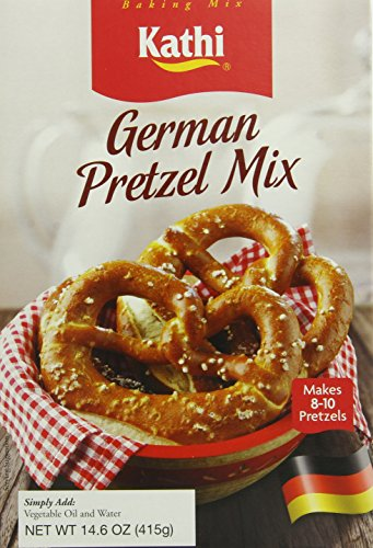 Kathi German Pretzel Baking Mix, 14.6 Ounce (German Baking Products compare prices)