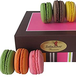 Traditional French Macarons- 8 Macarons 6 Flavors