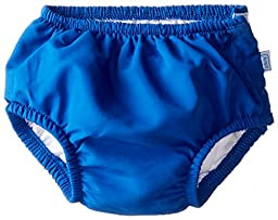 i play. Baby Snap Reusable Absorbent Swim Diaper, Royal Blue, 12 Months