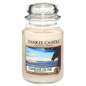 Yankee Candle Large Jar Candle, Ginger Dusk