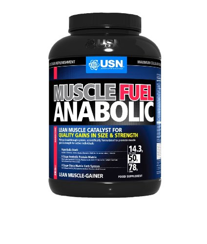 USN Muscle Fuel Anabolic 2000 g Chocolate Lean Muscle Gain Shake Powder