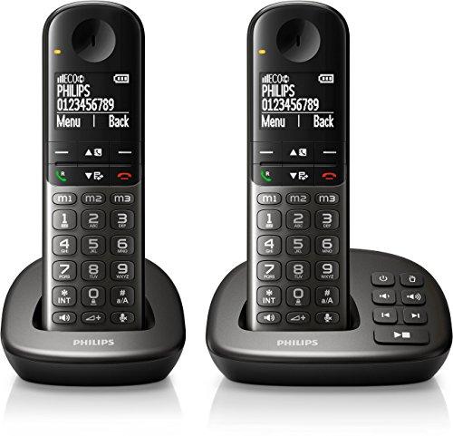Philips XL4952DS/38 schnurloses Telefon mit Anrufbeantworter...