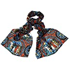 Stained Glass Scarf Silk