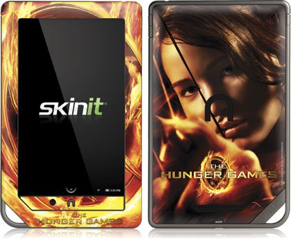 Skinit The Hunger Game -Katniss Bow & Arrow Vinyl Skin for Nook Color / Nook Tablet by Barnes and Noble