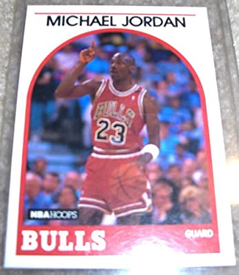 1989 NBA Hoops Michael Jordan # 200 NBA Basketball Card