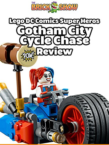 LEGO Batman Gotham City Cycle Chase Review (76053)