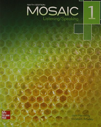 Mosaic Level 1 Listening/Speaking Student Book Plus Registration Code for Connect ESL