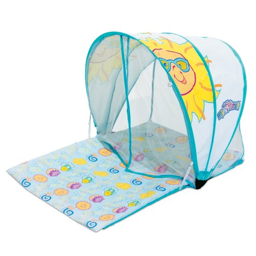 Baby Activity Playmat with Sunshade  sc 1 st  Safco- Scoottm Double-Sided Steel Book Cart Book  Scoot Bk & SunSmart Activity Baby Playmat Sunshade Canopy | Safco- Scoottm ...