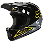 Fox Rampage Cycling Helmet, Black/Yellow, Medium