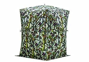 Barronett Blinds BM02BT Big Mike XT Ground Blind in Blood Trail, Camo by Barronett Blinds
