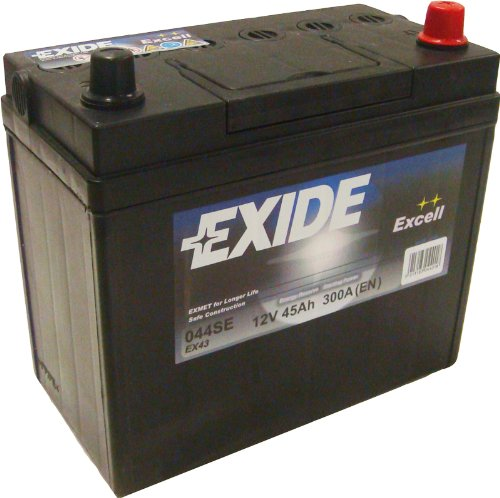 Exide Excell EB454 45Ah Autobatterie wartungsfrei
