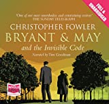 Christopher Fowler Bryant & May and the Invisible Code