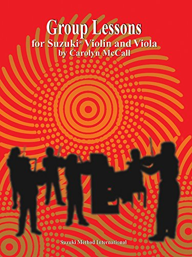 Group Lessons for Suzuki Violin and Viola