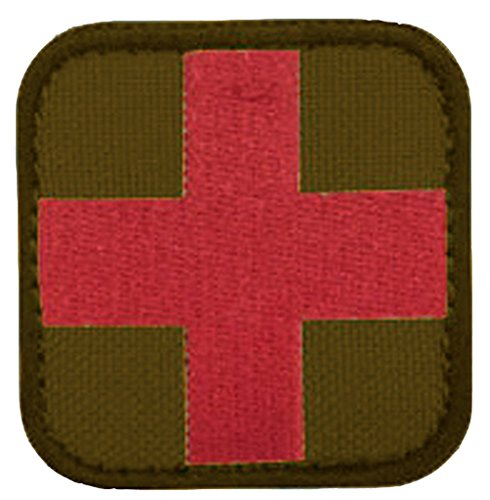 все цены на 2 x 2 Medic Patch - Red Cross on Tan онлайн