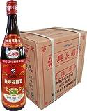【ケース販売】中国越州陳年5年花彫紹興酒 640ml×12本